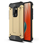 Ultra-thin Silicone Gel Soft Case 360 Degrees Cover S02 for Huawei Mate 20 Gold