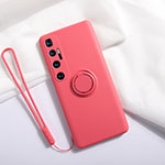 Ultra-thin Silicone Gel Soft Case 360 Degrees Cover S03 for Xiaomi Mi 10 Ultra Red