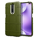 Ultra-thin Silicone Gel Soft Case 360 Degrees Cover S05 for Xiaomi Redmi K30 5G Green