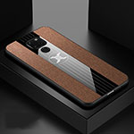 Ultra-thin Silicone Gel Soft Case 360 Degrees Cover Z01 for Huawei Mate 20 Brown