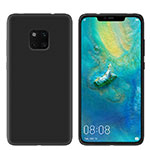 Ultra-thin Silicone Gel Soft Case Cover S03 for Huawei Mate 20 Pro Black