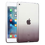 Ultra-thin Transparent Gradient Soft Cover for Apple iPad Mini 4 Gray