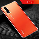 Ultra-thin Transparent TPU Soft Case Cover for Huawei P30 Clear