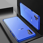 Ultra-thin Transparent TPU Soft Case Cover H01 for Samsung Galaxy Note 10 Plus 5G Blue