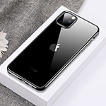 Ultra-thin Transparent TPU Soft Case Cover H02 for Apple iPhone 11 Pro Black
