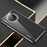 Ultra-thin Transparent TPU Soft Case Cover H02 for Huawei Mate 30 Pro 5G Black