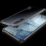 Ultra-thin Transparent TPU Soft Case Cover H04 for Oppo Find X2 Neo Black