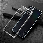 Ultra-thin Transparent TPU Soft Case Cover S01 for Oppo Reno4 Pro 5G Clear