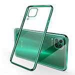 Ultra-thin Transparent TPU Soft Case Cover S02 for Huawei P40 Lite Green