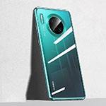 Ultra-thin Transparent TPU Soft Case Cover S04 for Huawei Mate 30 Pro 5G Green