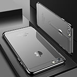 Ultra-thin Transparent TPU Soft Case H04 for Apple iPhone 8 Gray
