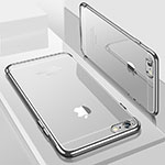Ultra-thin Transparent TPU Soft Case H04 for Apple iPhone 8 Silver