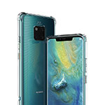 Ultra-thin Transparent TPU Soft Case K01 for Huawei Mate 20 Pro Clear