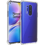 Ultra-thin Transparent TPU Soft Case K01 for OnePlus 8 Pro Clear