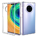 Ultra-thin Transparent TPU Soft Case K08 for Huawei Mate 30 Pro 5G Clear