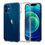 Ultra-thin Transparent TPU Soft Case T02 for Apple iPhone 12 Clear