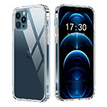Ultra-thin Transparent TPU Soft Case T02 for Apple iPhone 12 Pro Clear