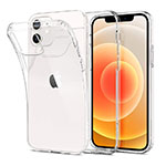 Ultra-thin Transparent TPU Soft Case T03 for Apple iPhone 12 Clear