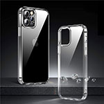 Ultra-thin Transparent TPU Soft Case T03 for Apple iPhone 12 Pro Clear
