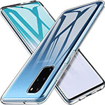 Ultra-thin Transparent TPU Soft Case T03 for Samsung Galaxy S20 Plus 5G Clear
