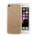 Ultra-thin Transparent TPU Soft Case T04 for Apple iPhone 8 Clear