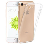 Ultra-thin Transparent TPU Soft Case T05 for Apple iPhone 8 Clear