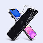Ultra-thin Transparent TPU Soft Case T06 for Apple iPhone 11 Pro Clear