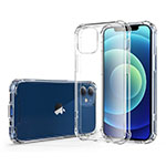 Ultra-thin Transparent TPU Soft Case T06 for Apple iPhone 12 Clear