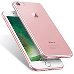 Ultra-thin Transparent TPU Soft Case T06 for Apple iPhone 8 Clear