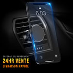 Universal Car Air Vent Mount Magnetic Cell Phone Holder Stand C01 Black