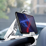 Universal Car Dashboard Mount Clip Cell Phone Holder Cradle T03 White
