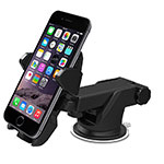 Universal Car Suction Cup Mount Cell Phone Holder Cradle M14 Black