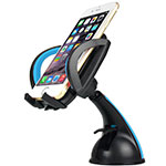 Universal Car Suction Cup Mount Cell Phone Holder Cradle M29 Black