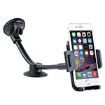 Universal Car Suction Cup Mount Cell Phone Holder Stand M09 Black