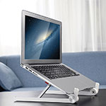 Universal Laptop Stand Notebook Holder K13 for Apple MacBook Air 11 inch Silver