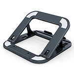 Universal Laptop Stand Notebook Holder T02 for Apple MacBook 12 inch Black