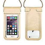 Universal Waterproof Cover Dry Bag Underwater Pouch W10 Gold