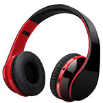 Wireless Bluetooth Foldable Sports Stereo Headset Headphone H72 Red