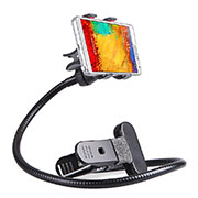 Flexible Smartphone Stand Cell Phone Holder Lazy Bed Universal T17 Black