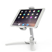 Flexible Tablet Stand Mount Holder Universal K08 for Samsung Galaxy Tab S2 9.7 SM-T810 SM-T815 White