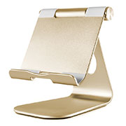 Flexible Tablet Stand Mount Holder Universal K23 for Apple iPad 4 Gold