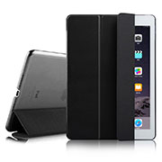 Leather Case Stands Flip Cover for Apple iPad Air 2 Black