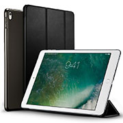 Leather Case Stands Flip Cover for Apple iPad Pro 12.9 (2017) Black
