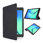 Leather Case Stands Flip Cover for Samsung Galaxy Tab S2 8.0 SM-T710 SM-T715 Black