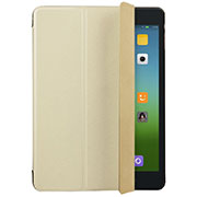 Leather Case Stands Flip Cover for Xiaomi Mi Pad 3 Gold