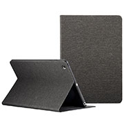 Leather Case Stands Flip Cover L01 for Apple iPad Mini 3 Black