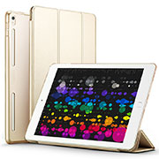 Leather Case Stands Flip Cover L02 for Apple iPad Pro 10.5 Gold