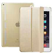 Leather Case Stands Flip Cover L02 for Apple iPad Pro 12.9 Gold