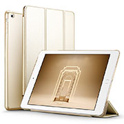 Leather Case Stands Flip Cover L06 for Apple iPad Mini 3 Gold
