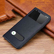 Leather Case Stands Flip Cover T20 Holder for Apple iPhone 11 Pro Blue